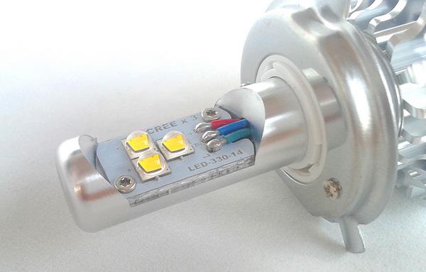 Какую выбрать светодиодную лампу для фар на ближний